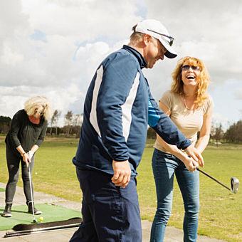 Golf Lesson in Hudson, NY