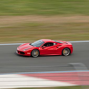 Race a Ferrari 488 GTB at Dominion Raceway