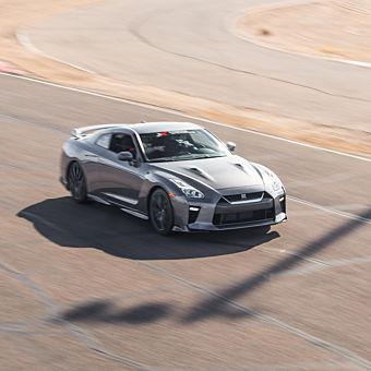 Race a Nissan GT-R near Los Angeles
