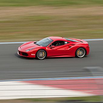 Race a Ferrari at Putnam Park Road Course