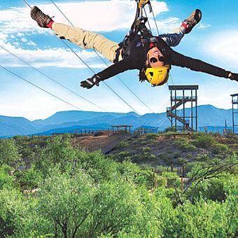 Zipline Adventure near Phoenix