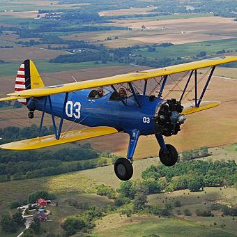 Biplane Sightseeing Flight in Warrenton, VA