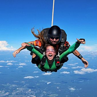 Dallas Tandem Skydiving Experience