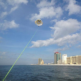 Parasailing in Alabama
