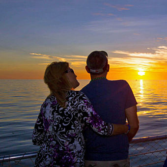 Sunset Views on a Dinner Cruise