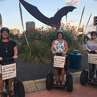Bat Flight Segway Tour in Austin