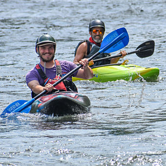 Private Kayak Instruction in Pittsburgh