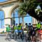 Bike tour past Paramount Pictures