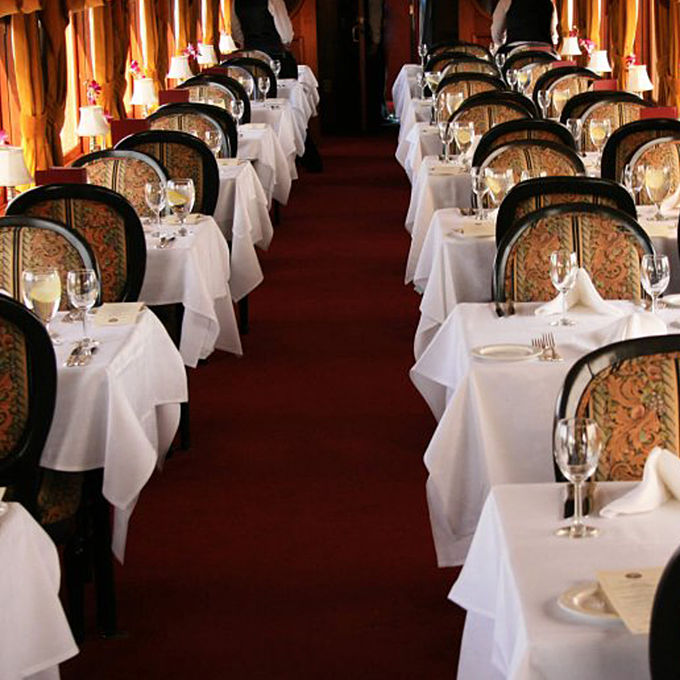 Dining Train through Napa Valley