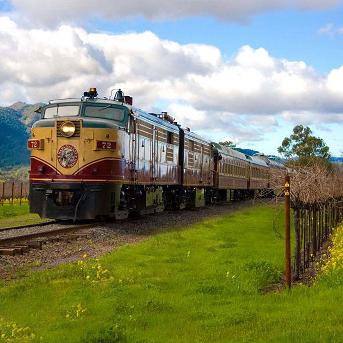 Gourmet Lunch Train through Napa Valley
