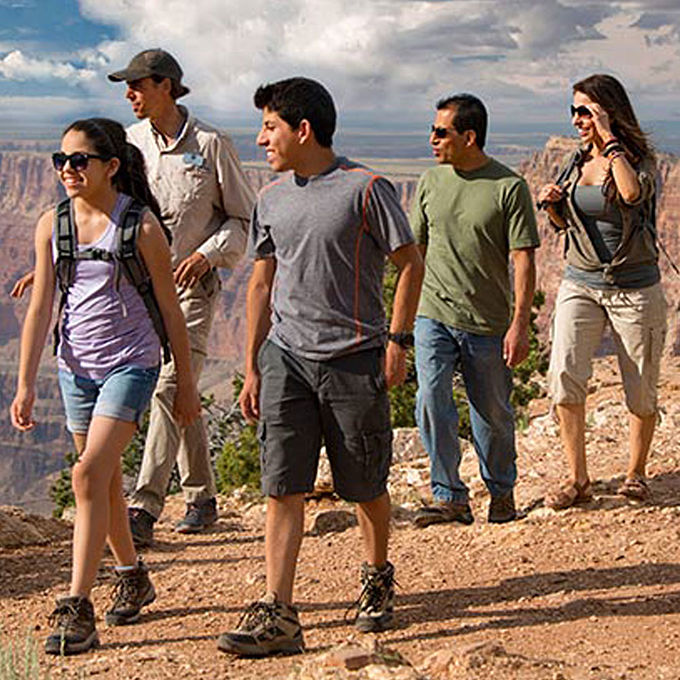 Guided Hike Grand Canyon