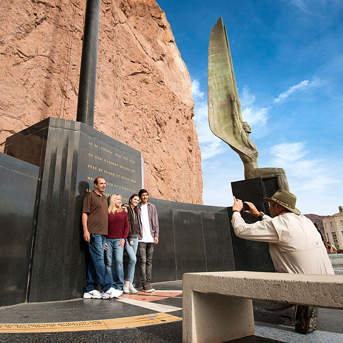 Visit the Hoover Dam from Las Vegas