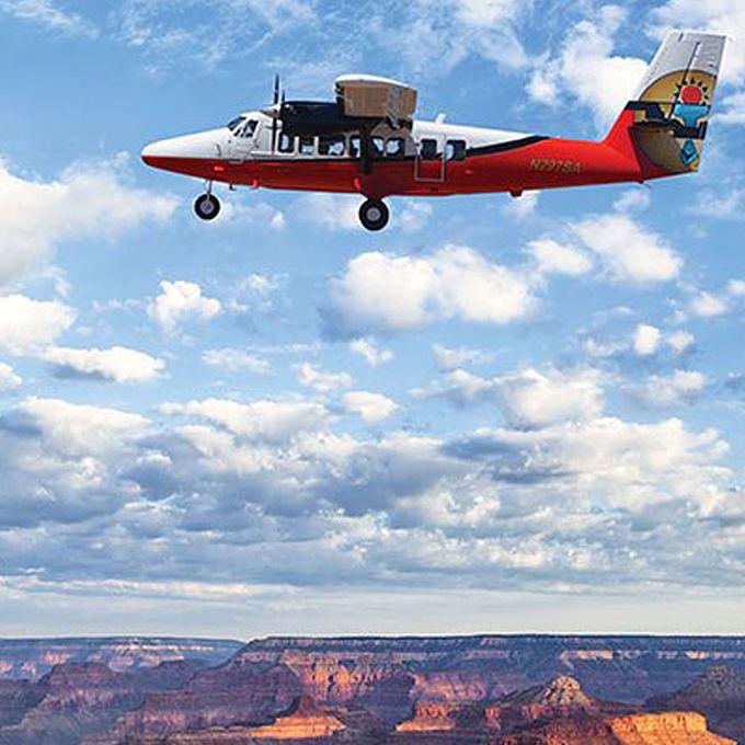 Scenic Plane Tour of the South Rim