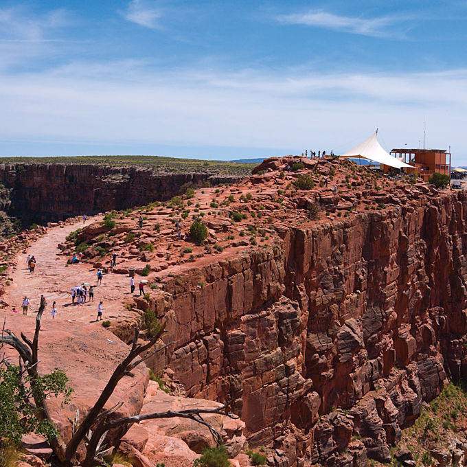 Fly Over and Visit Guano Point at Grand Canyon West