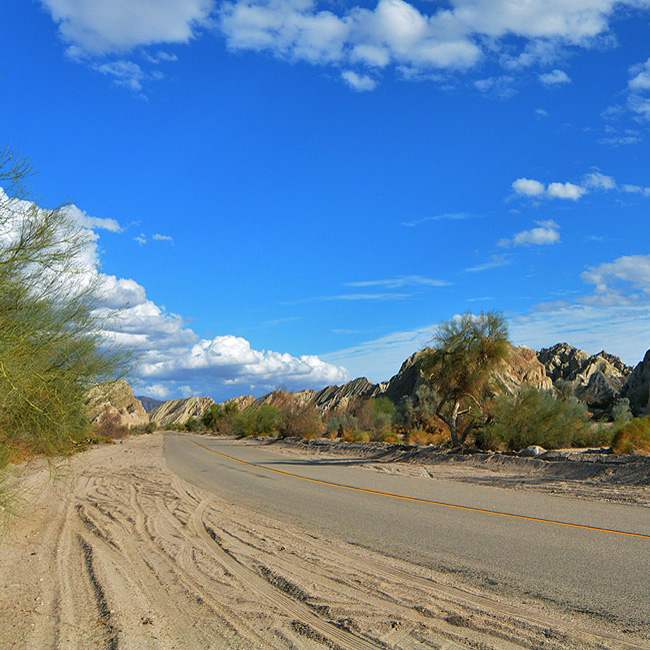 Jeep Tour of San Andreas Fault near Los Angeles