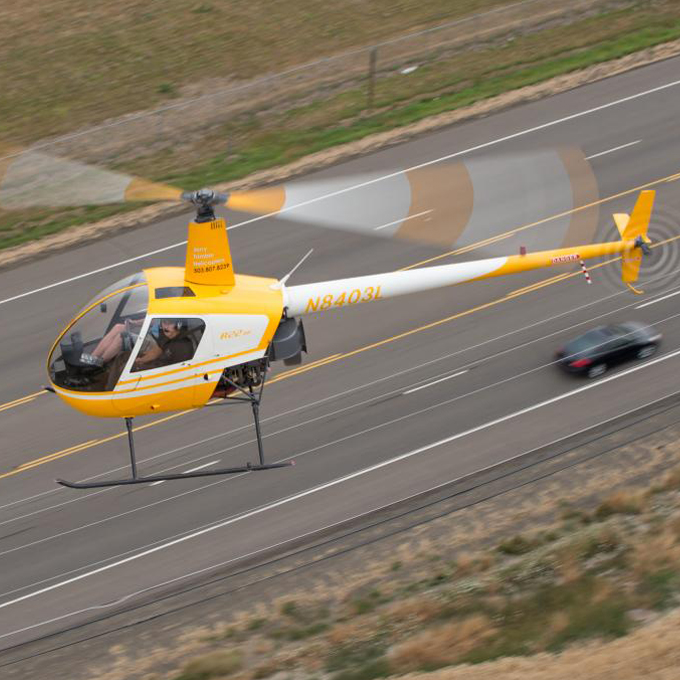 Portland Helicopter Flight Lesson