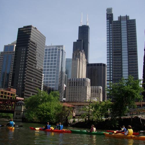 Downtown Chicago Kayak Tour