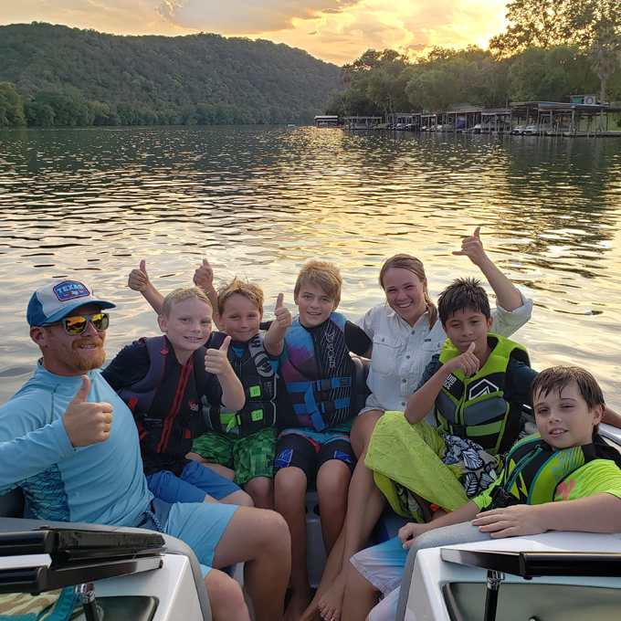 Private Wakeboard Lesson on Lake Austin, Texas