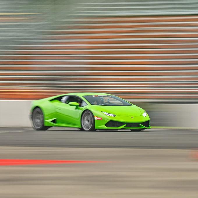 Race a Lamborghini in Indianapolis