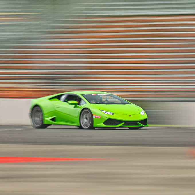 Race a Lamborghini at National Corvette Museum Motorsports Park