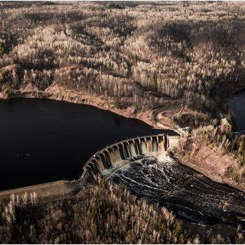 Helicopter Tour Near Lake Superior
