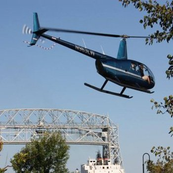 Lake Superior Helicopter Tour