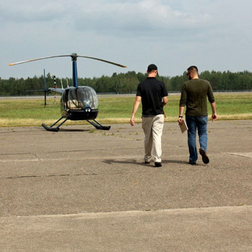Heli Flight Lesson in New Orleans