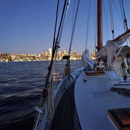 Sunset Sail in Seattle