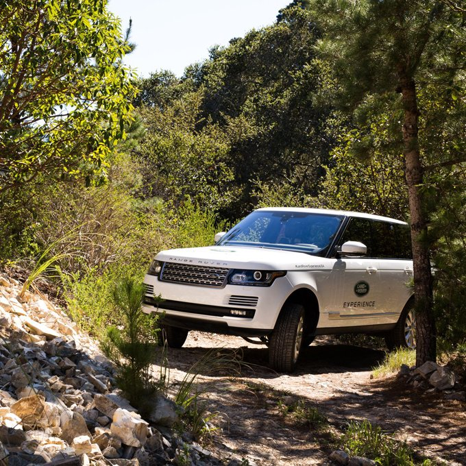 Land Rover Off-Road Driving Experience