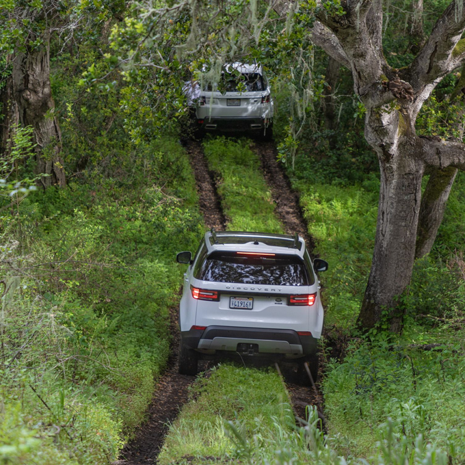 Off-Road Lesson with Land Rover in California