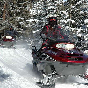 Guided Snowmobile Tour in Denver