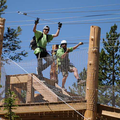 Leadville Zip Lining Guides