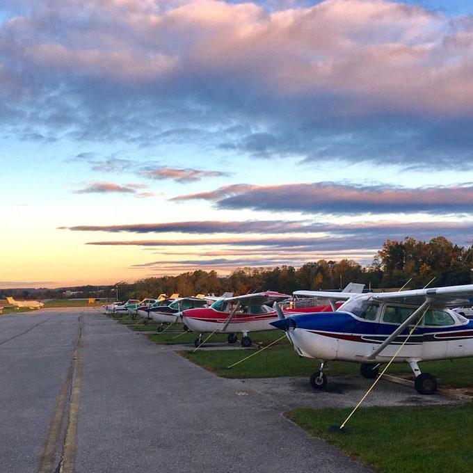 Introductory Flying Lesson near Washington DC