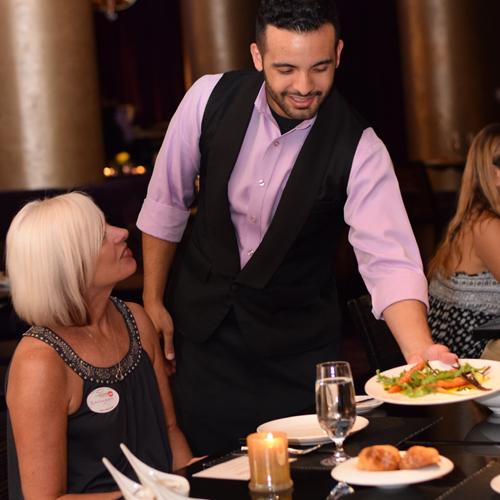 VIP Service on Vegas Strip Dinner Tour