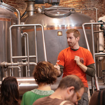 Brewery Tour in Brooklyn