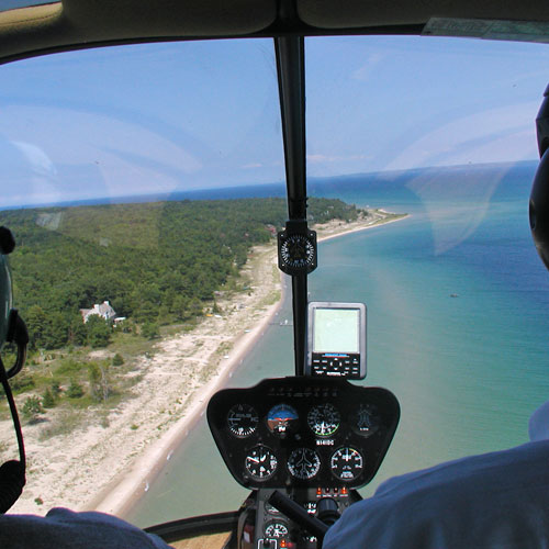 Helicopter Flight Training in Detroit