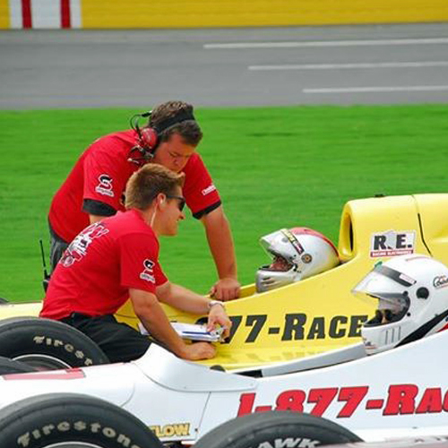 Indy Car Driving near Baltimore