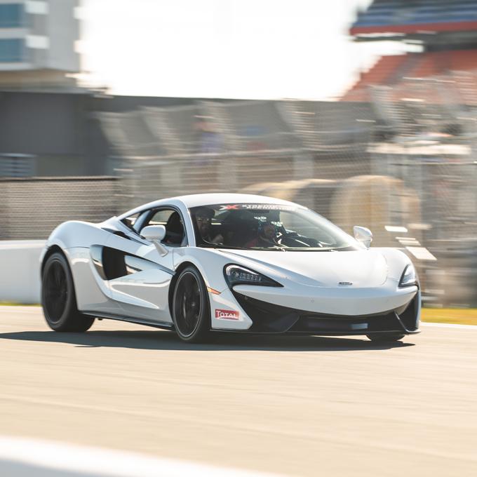 Drive a McLaren near Los Angeles