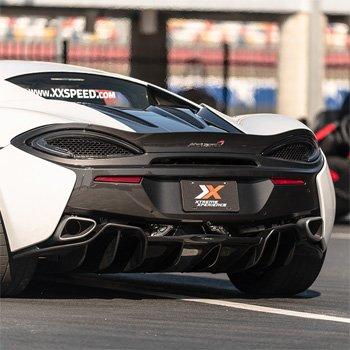 Race a McLaren 570S near Houston