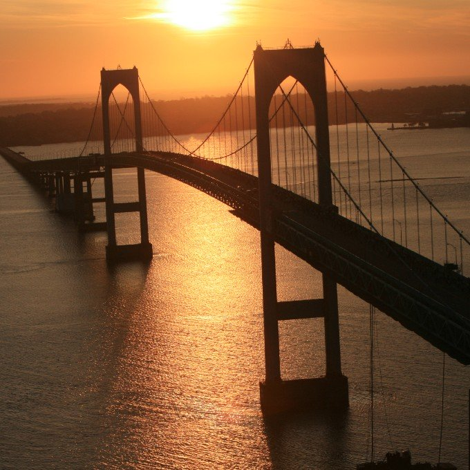 Scenic Helicopter Sunset Tour in Newport, RI