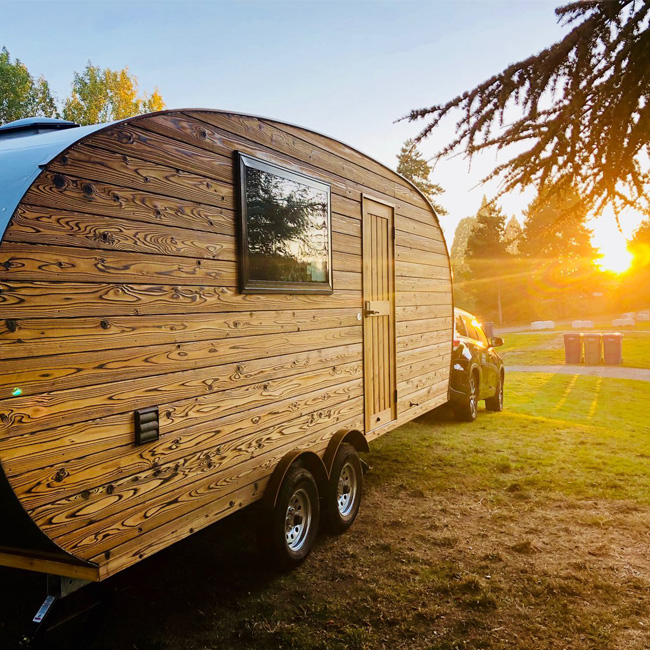 Overnight Accommodations in a Luxury Camper Trailer