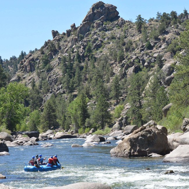 Browns Canyon River Rafting in Colorado