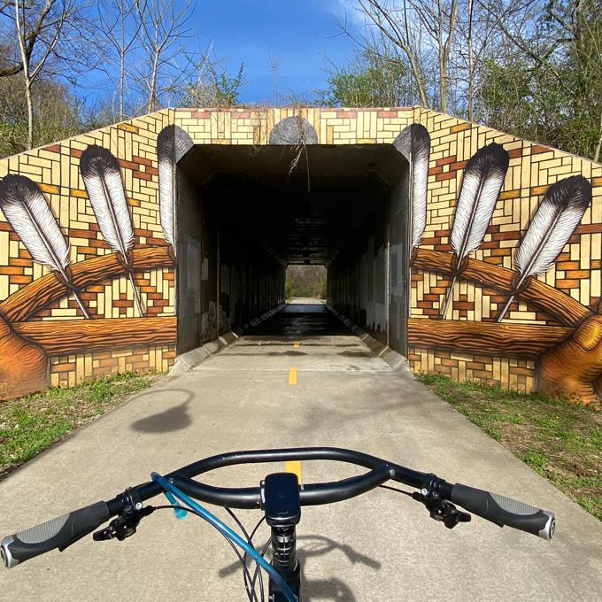 Greenway Biking in Arkansas