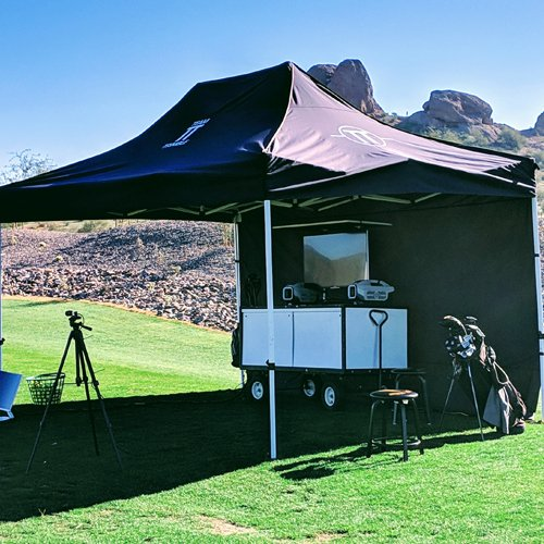 Set Up for Golf Lesson in Phoenix