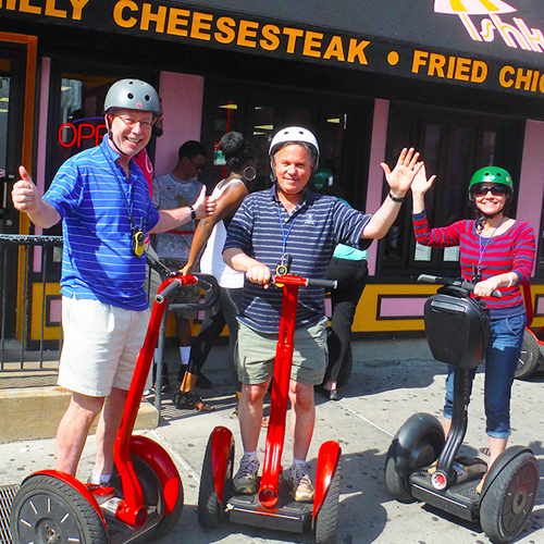 Guided Segway Cheesesteak Tour