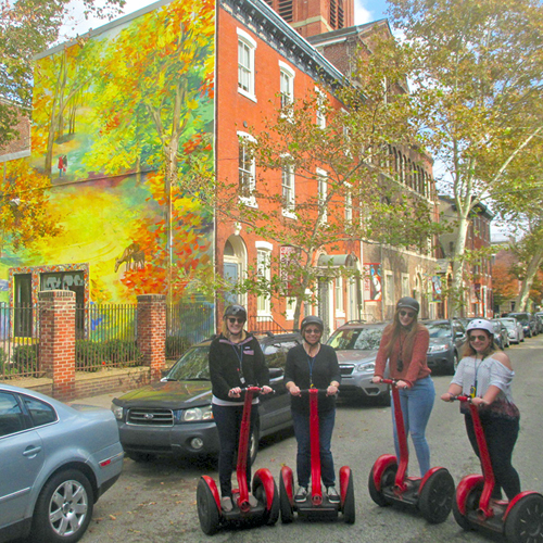 Philly by Segway Mural Tour