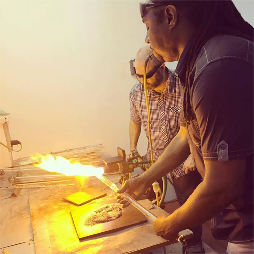 Glass Blowing Lesson in Philadelphia