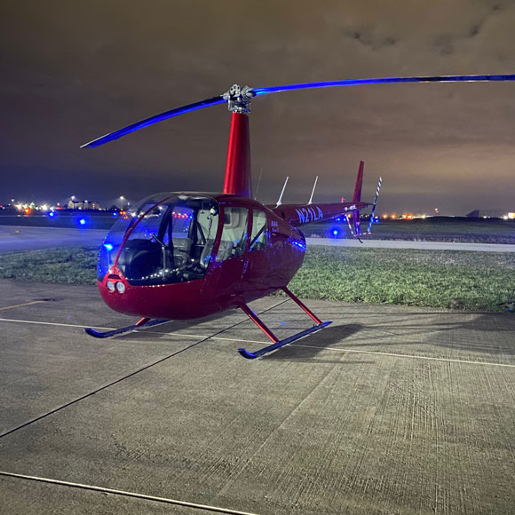 R-44 Helicopter Flight Lesson in Fishers, IN