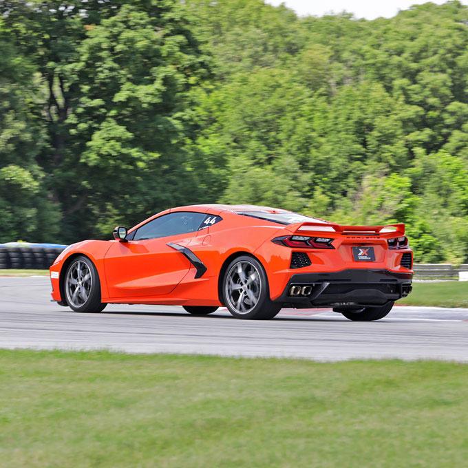 Race a Chevy C8 Corvette at Auto Club Speedway