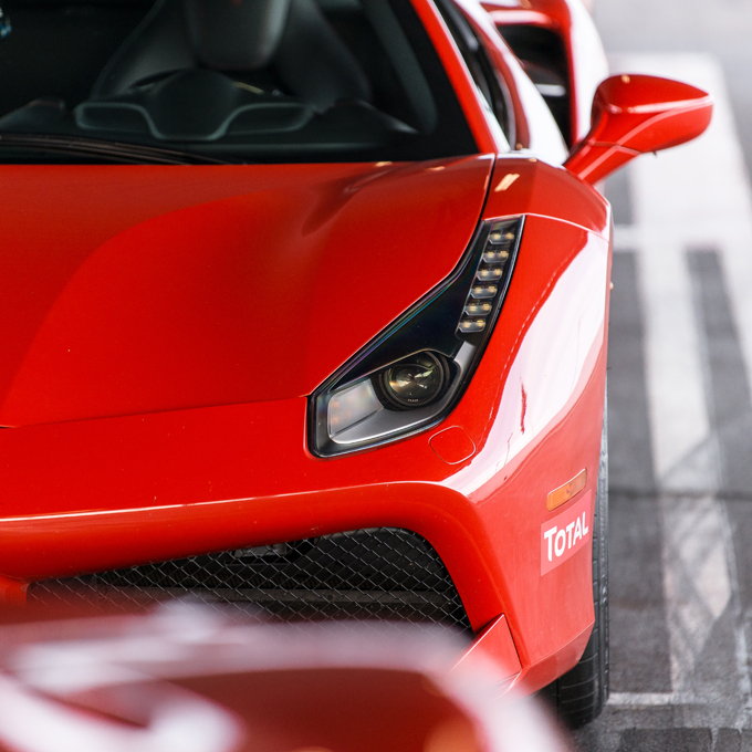 Race a Ferrari at the Race Track
